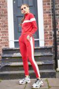 Bella Red & White Stripe Set