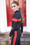 Bella Black & Red Stripe Set
