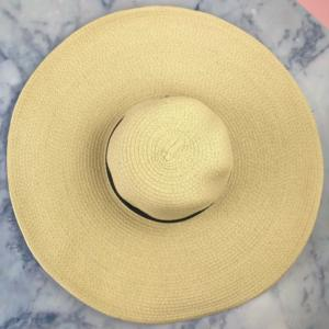 Beige Floppy Hat