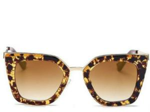 Cannes Cats Eye Gold Sunglasses