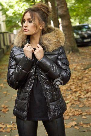 Colette Black Tailored Coat