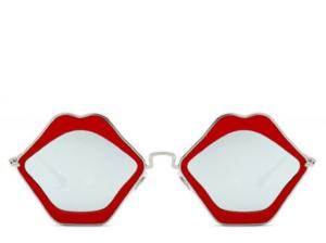 Mykonos Red Lips Sunglasses