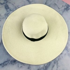 Cream Floppy Hat