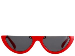 Puerto Rico Red Cats Eye Sunglasses