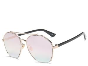 Cabo Rose Gold Square Aviators