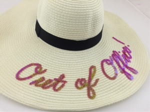 Out Of Office! Floppy Hat