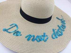 Do Not Disturb Floppy Hat