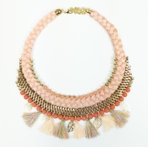 Pastel Tassel Necklace