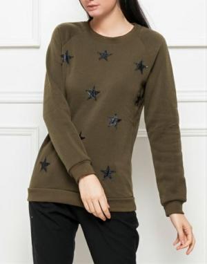 Khaki Star Jumper