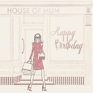 House Of Mum Card 21cm