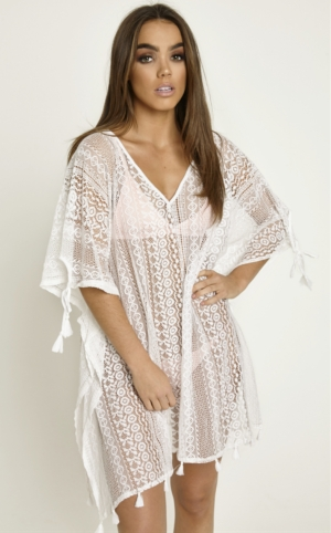 Lace Midi Cover Up