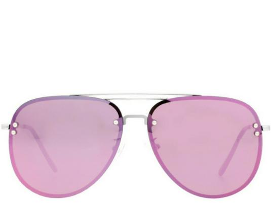 Sarah Ashcorft X N&K Fuchsia Pink Aviators