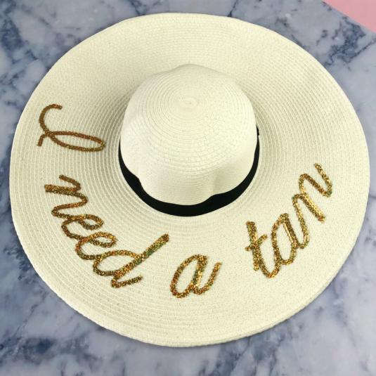 I Need a Tan Floppy Hat