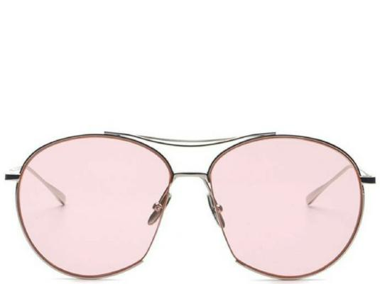Miami Beach Tinted Pink Aviators