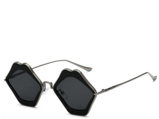 Mykonos Black Lips Sunglasses