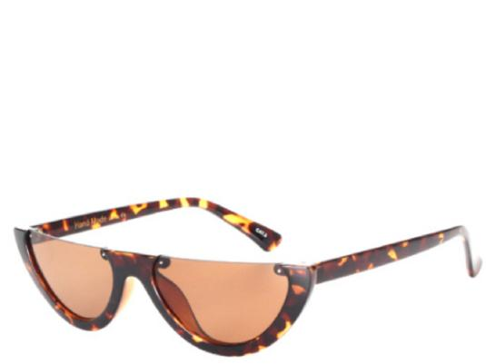 Puerto Rico Leopard Cats Eye Sunglasses