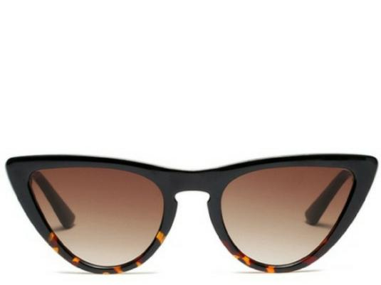 Jamaica Leopard Cats Eye Sunglasses