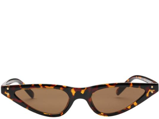 Palm Springs Leopard Cats Eye Sunglasses