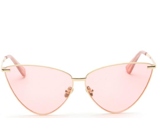 Seville Pink Tint Cats Eye Sunglasses