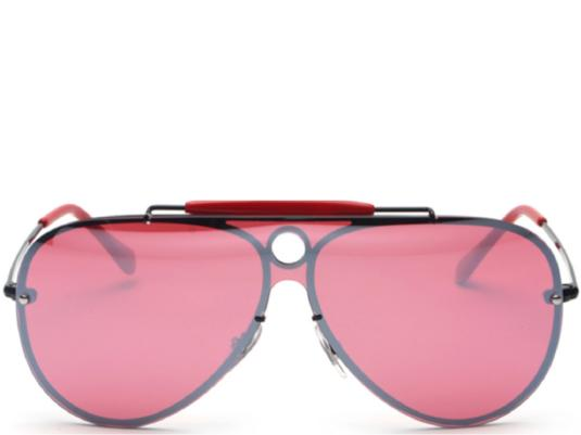 Sydney Brow Bar Red Reflective Aviators