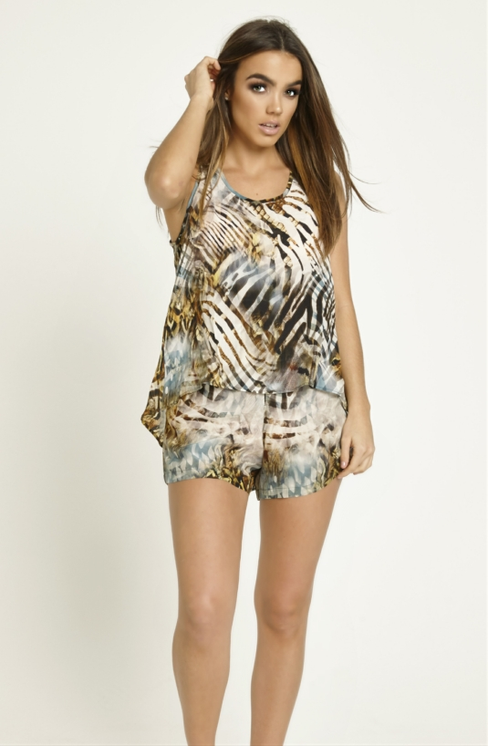 Lola Luxury Shorts and Top Set